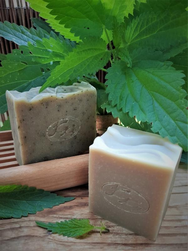 Krmešák Žihľava- prírodné bylinkové mydlo