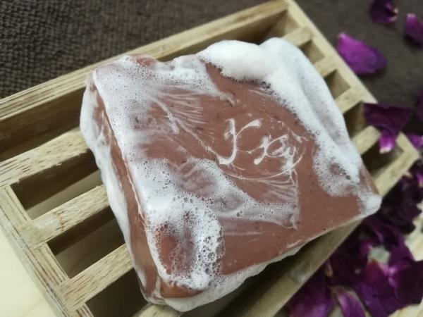 Krmešák Ruža - prírodné bylinkové mydlo