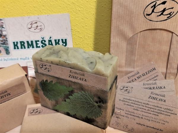 Krmešák Žihľava - prírodné bylinkové mydlo